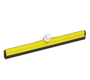 Plastic Floor Squeegee 450mm - Yellow