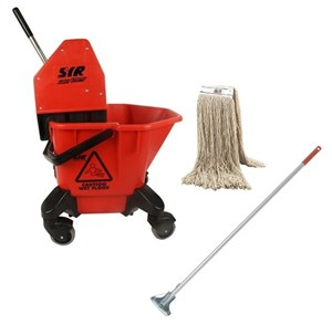 SYR TC20 Kentucky Bucket and Wringer Set - RED