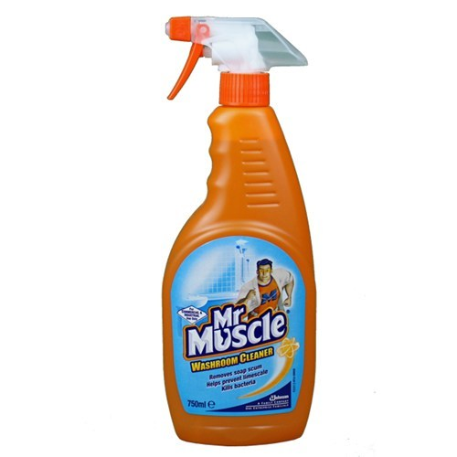 Mr Muscle Washroom 6 Pack Bathroom Cleaner Click