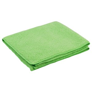 Green Premium Microfibre Cloths 40x40cm (pack of 10)