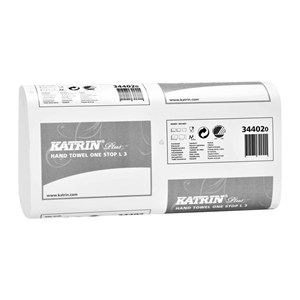 Katrin 344020 Plus One Stop L3 Hand Towels (21x90)
