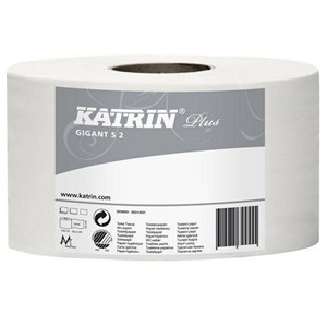 Katrin 62080 Plus Gigant Mini Jumbo Toilet Roll 12x150m