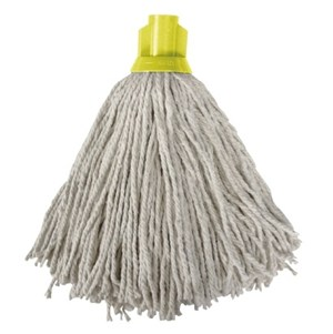 12oz. PY Socket Mop - Yellow (Pack of 10)