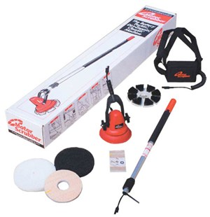 "Motorscrubber Battery Operated 8"" Scrubbing Machine (starter pack)"