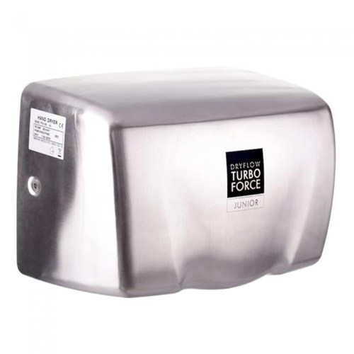 TurboForce Junior Hand Dryer Stainless Steel