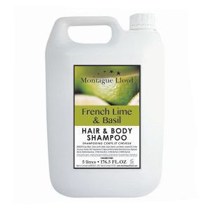 French Lime and Basil Hair & Body Shampoo 5litre