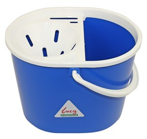 Lucy Oval Mop Bucket Blue