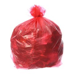 Red Refuse Sacks (200 per case)