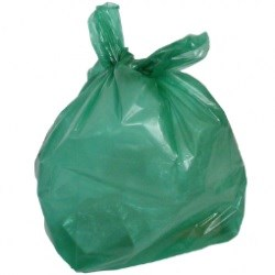 Green Refuse Sacks (200 per case)