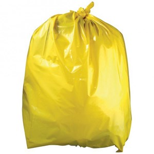 Yellow Refuse Sacks (200 per case)