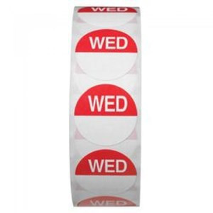 Day Dots - Wednesday (1000 per roll)