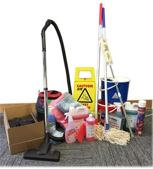 Click Office Cleaning Setup Package