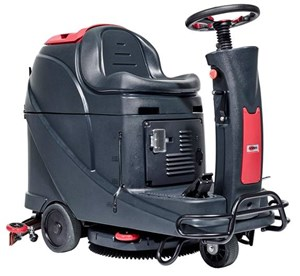 Viper AS530R 530mm/72L Micro Ride On Scrubber Dryer