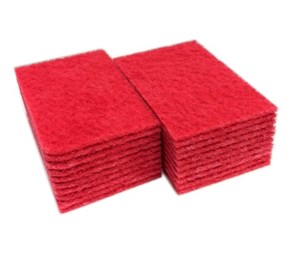 Red Scouring Pads