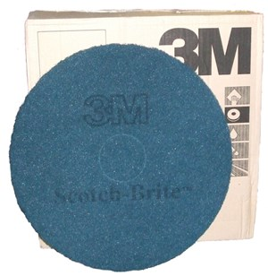 "3M Premium Blue Floor Pads 17"" (single)"