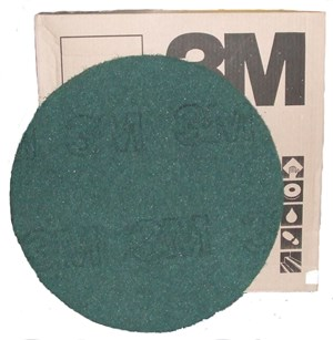 "3M Premium Green Floor Pads 16"" (single)"
