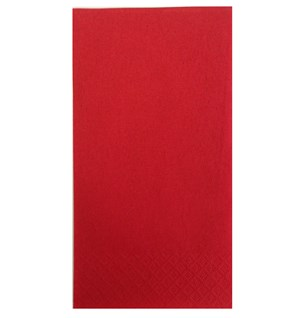 Red 8-fold 3-ply Napkins - 40cm