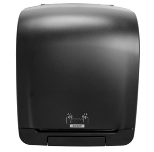 Katrin 92025 Inclusive Black System Towel Dispenser