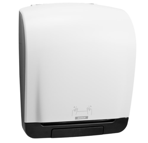 Katrin 90045 Inclusive White System Towel Dispenser