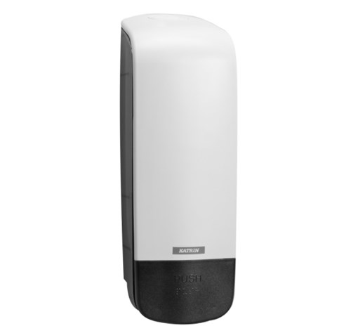 Katrin 90229 White Inclusive Soap Dispenser 1000ml