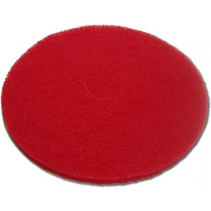 "I-Scrub Orbital Red 12"" Buff Pads (5)"