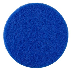 "I-Scrub Orbital Blue 12"" Light Clean Pads (5)"