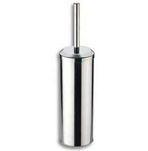 Modern Toilet Brush & Holder Chrome