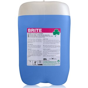 20 litre - Brite - Glass and Plastic Cleaner (701)