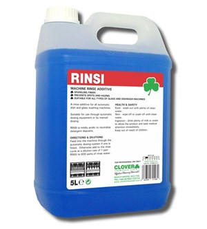 Rinsi Machine Rinse Additive 5litre