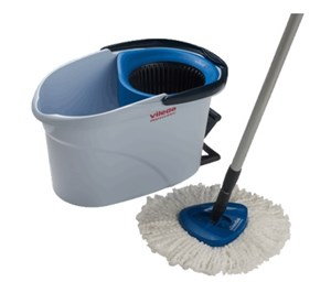 Vileda UltraSpin Mini Mopping Kit BLUE (inc handle)