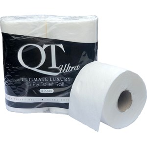 QT Ultra 3ply - Ultimate Luxury Toilet Roll (40 rolls) QTU3P