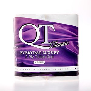QT Classic 2ply - Everyday Luxury Toilet Roll (36 rolls) QTC2P