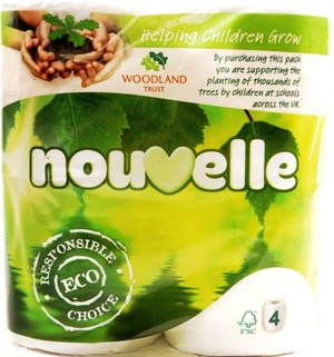 Nouvelle ECO Toilet Rolls 2ply 45 rolls