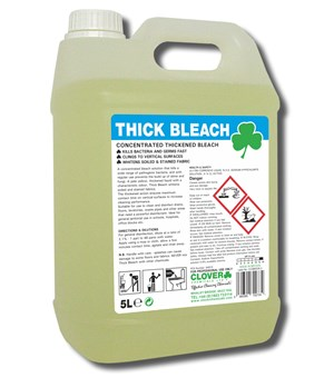 Clover Thick Bleach 5litre (215)