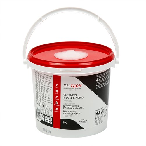Paltech Cleaning and Degreasing (Graffiti) Wipes (Tub of 200)