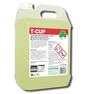 Clover T-Cup Chlorinated Liquid 5-litre
