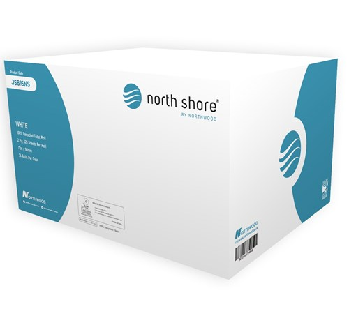 North Shore Toilet Tissue JS616NS (Was Baywest 616) 36 rolls