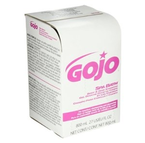 Gojo 9152 Spa Bath Body & Hair Shampoo 12x800ml