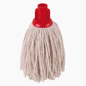 12oz PY Socket Mop - Red