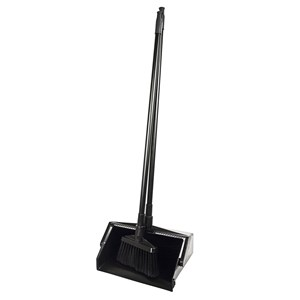 SYR Standard Lobby Dust Pan and Brush set (Black)