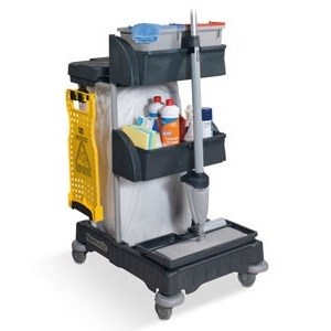 Numatic XCG0 Compact Janitorial Trolley (906247)