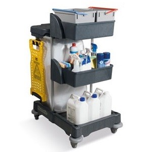 Numatic XCG3 Compact Janitorial Trolley (906249)