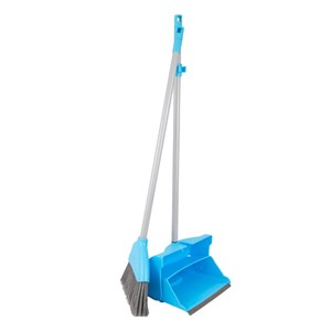 Economy Lobby Dustpan and Brush Set BLUE