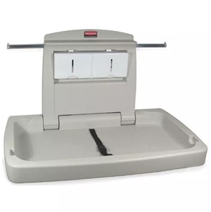 Rubbermaid Horizontal Baby Changing Station (FG781888LPLAT)