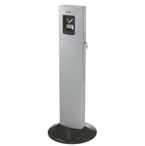 Rubbermaid Metropolitan Smokers Station Metalic Silver (FGR93400SM)
