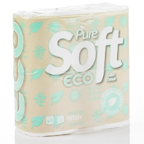 Pure Soft ECO Toilet Tissue 40 rolls