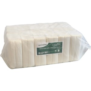 White Super Soft C-Fold Towels in Handy Pack 2ply 2400sh