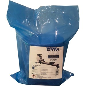SaniSafe Sanitising Wipes for Gym Equipment (1000 sheets)