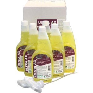 Ultra AX Virucidal Disinfectant 6x750ml (with 2 trigger heads)