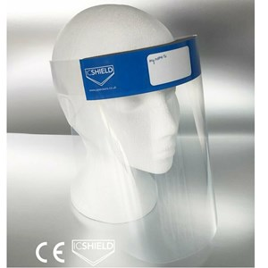 ICSHIELD Disposable 500mic CE Appproved PPE Visor